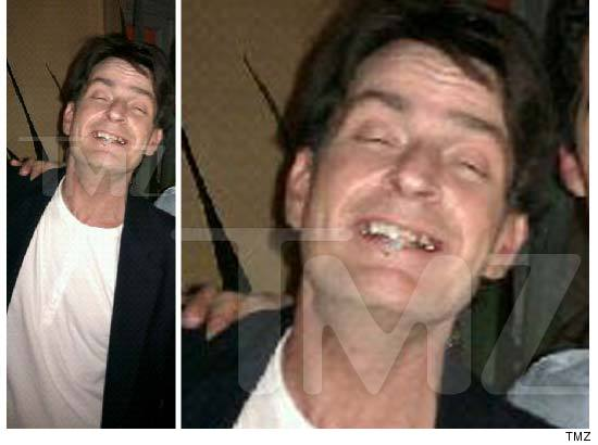 charlie sheen no teeth picture. 0203-charlie-sheen-tmz-credit